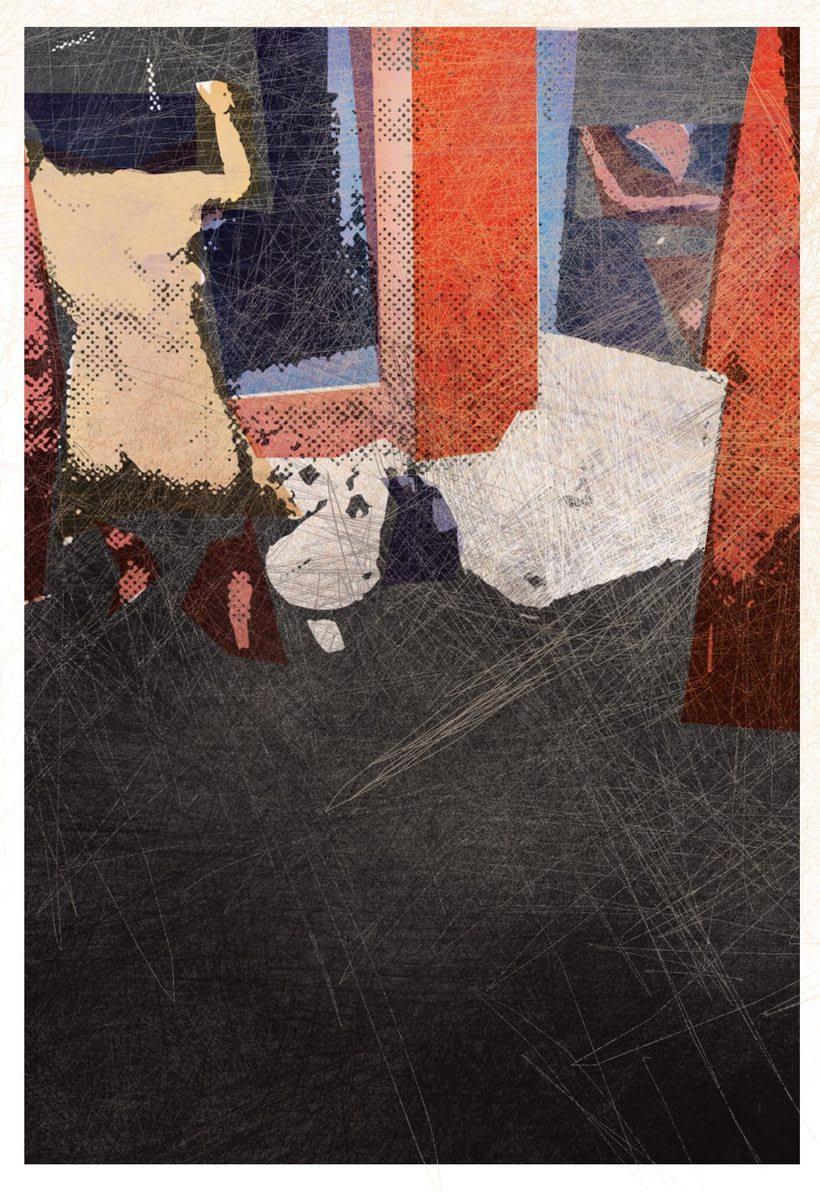 """PORQUERIA DE MUNDO"" Ilustraciones para un relato de Bukowski. 2"