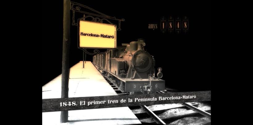 Un viaje por la historia de las Infraestructuras de Cataluña -1
