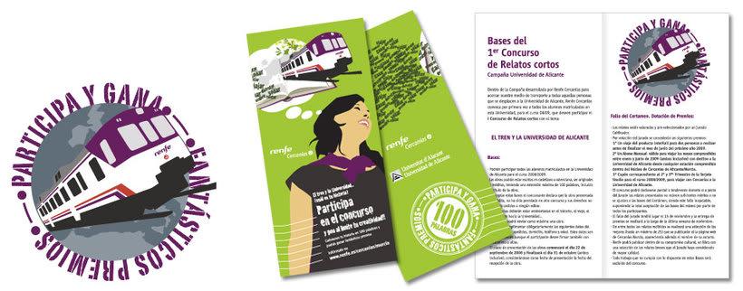 Campaña Renfe Cercanías. Promoción trayecto Alicante - Campus Universitario 4