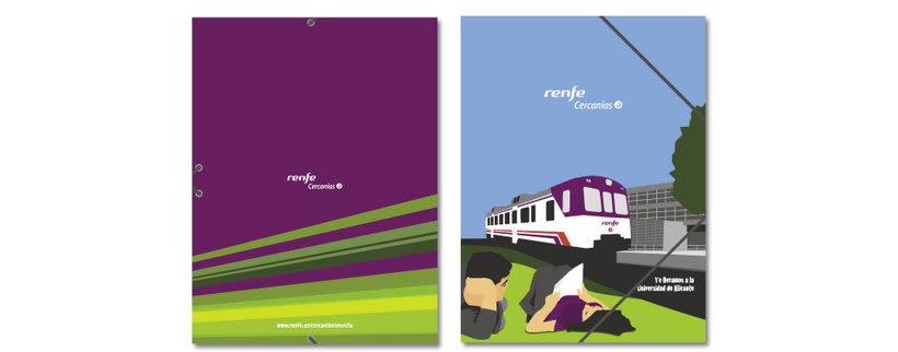 Campaña Renfe Cercanías. Promoción trayecto Alicante - Campus Universitario 5