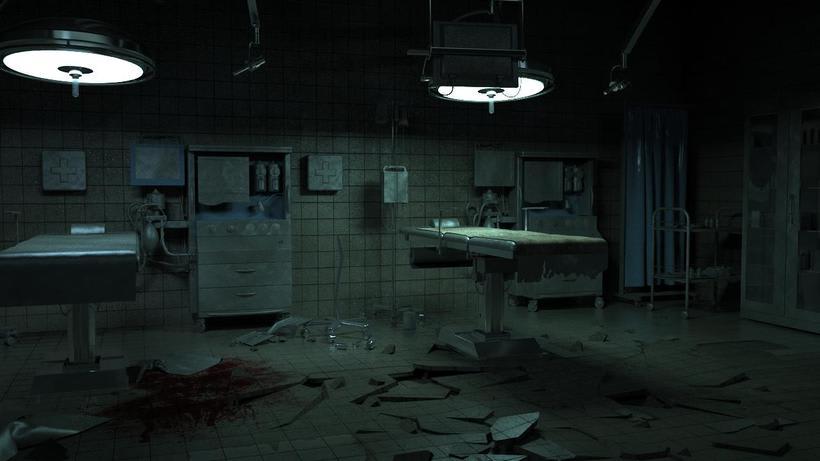 medical operation room  0