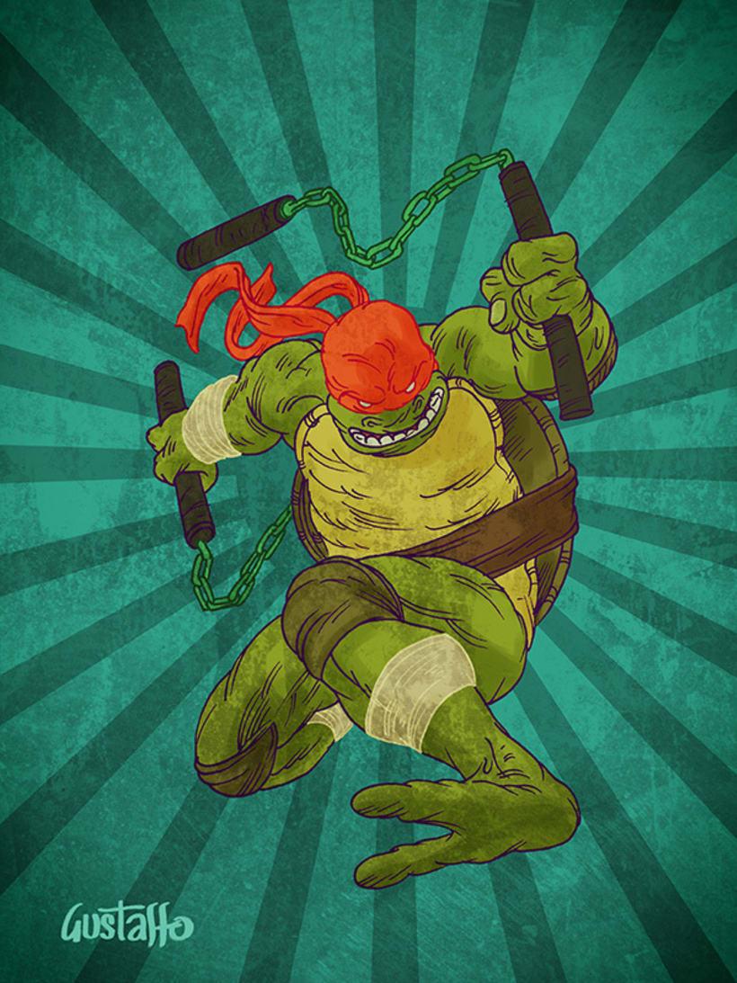 Tortugas Ninja 4