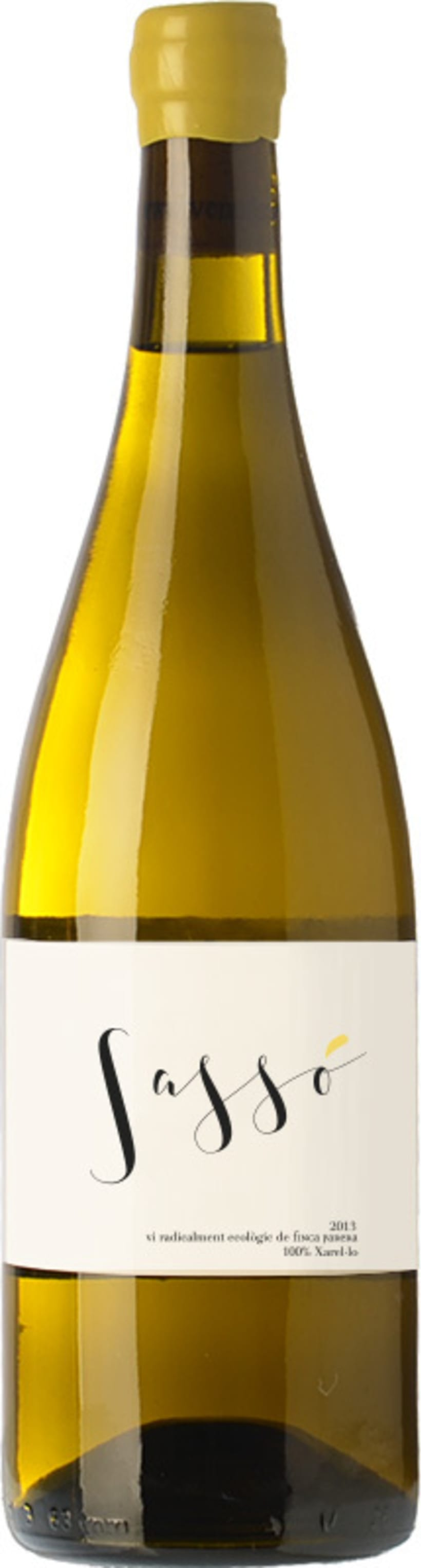 Etiqueta de vino Sassó 4