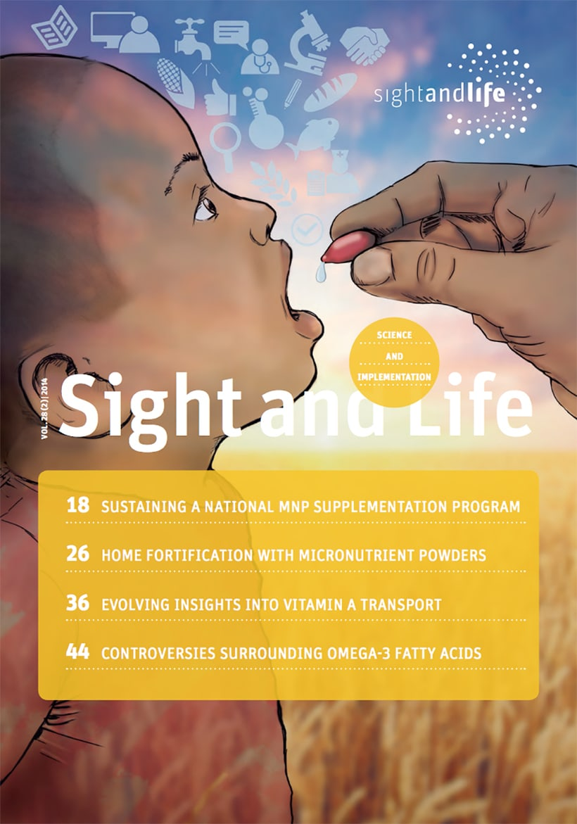 Ilustración portada revista Enero SightanLife / Cover for the magazine of the month of January Sightandlife. -1