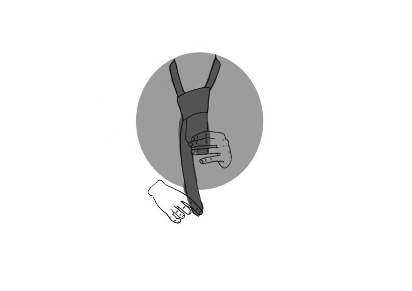 Cómo realizar el nudo de una corbata. 7