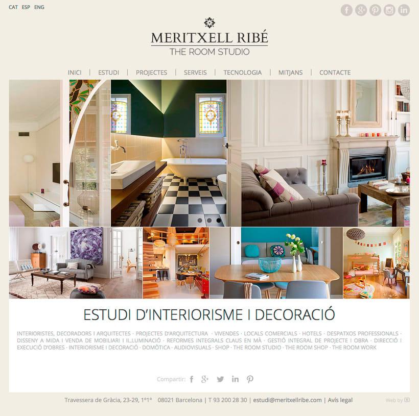 Web Meritxell Ribé 1