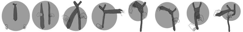 Cómo realizar el nudo de una corbata. 0