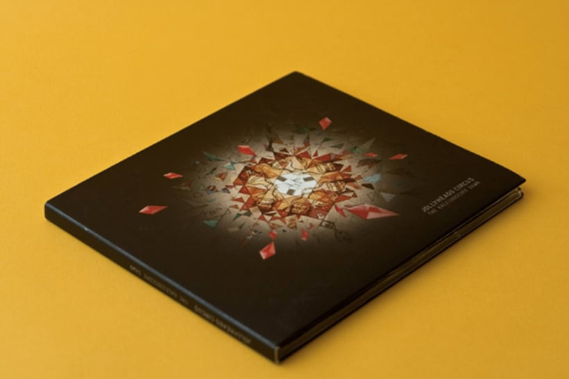 """CD Cover and Illustrated Book """" The Kaleidoscope dawn"""" 0"""