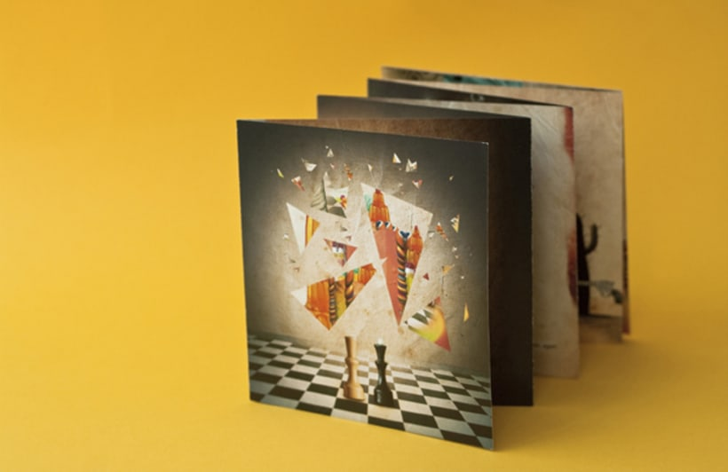 """CD Cover and Illustrated Book """" The Kaleidoscope dawn"""" 3"""