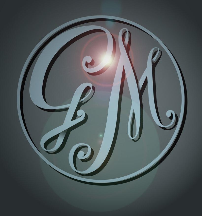 GM, Mi Proyecto del curso Los secretos dorados del lettering 0