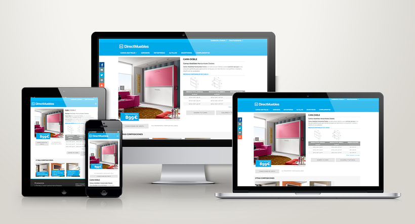 Direct Muebles - Responsive Design 0