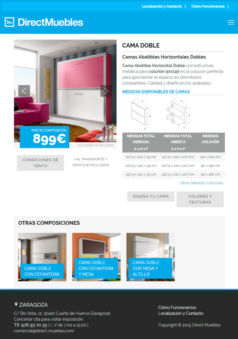 Direct Muebles - Responsive Design 4
