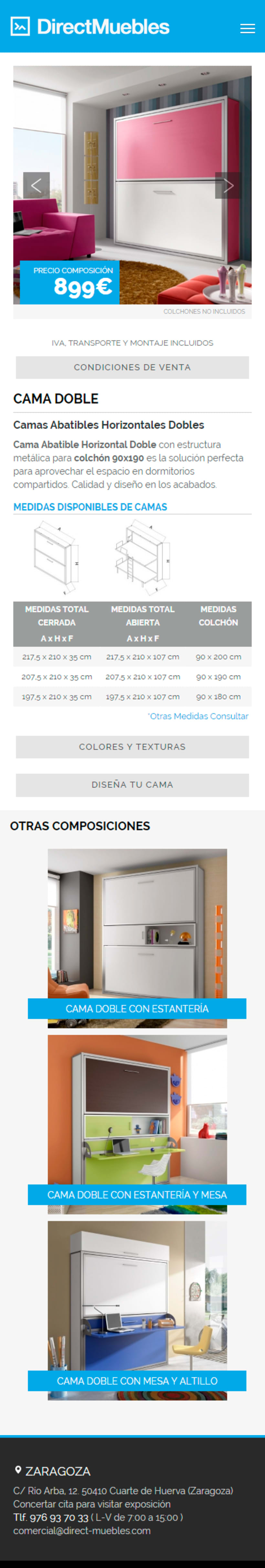 Direct Muebles - Responsive Design 5