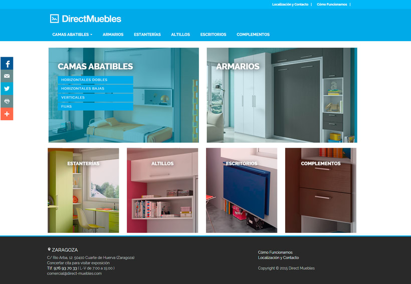 Direct Muebles - Responsive Design 2