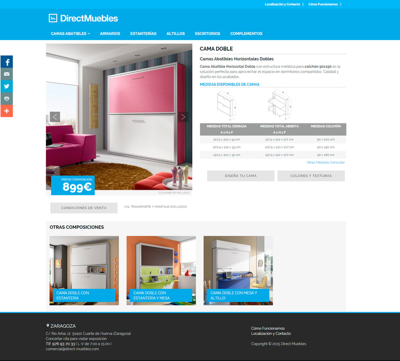 Direct Muebles - Responsive Design 3