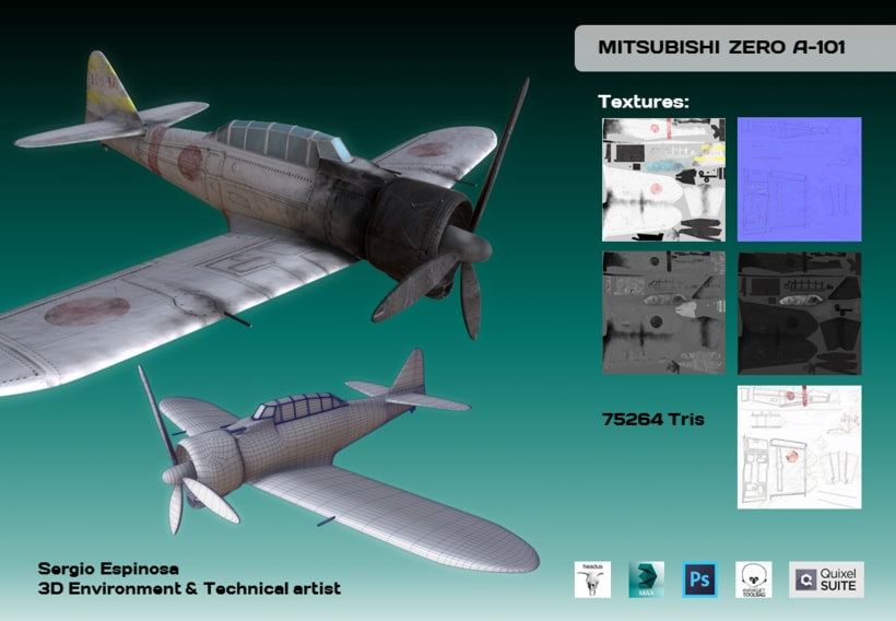 Mitsubishi ZERO A-101 -1