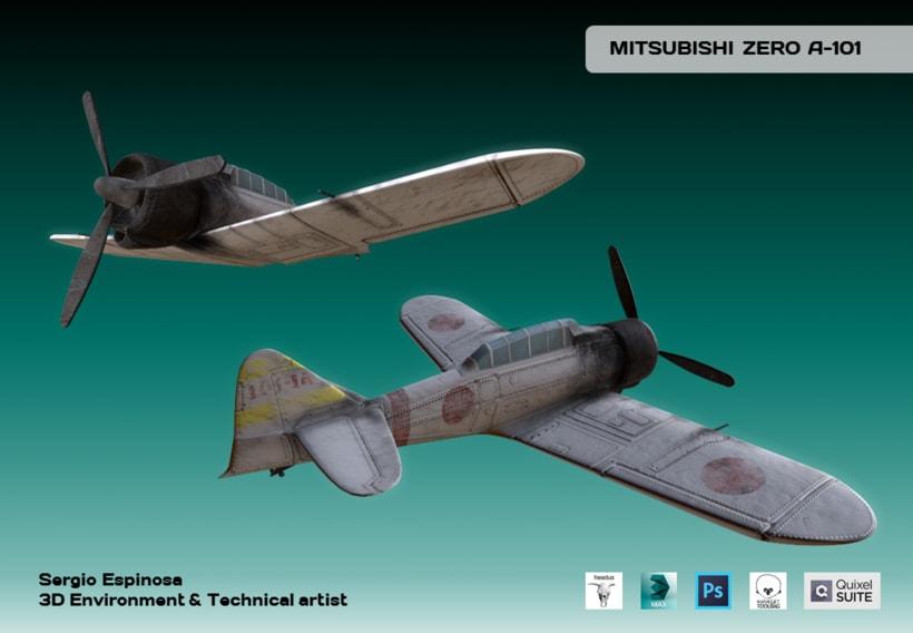 Mitsubishi ZERO A-101 0