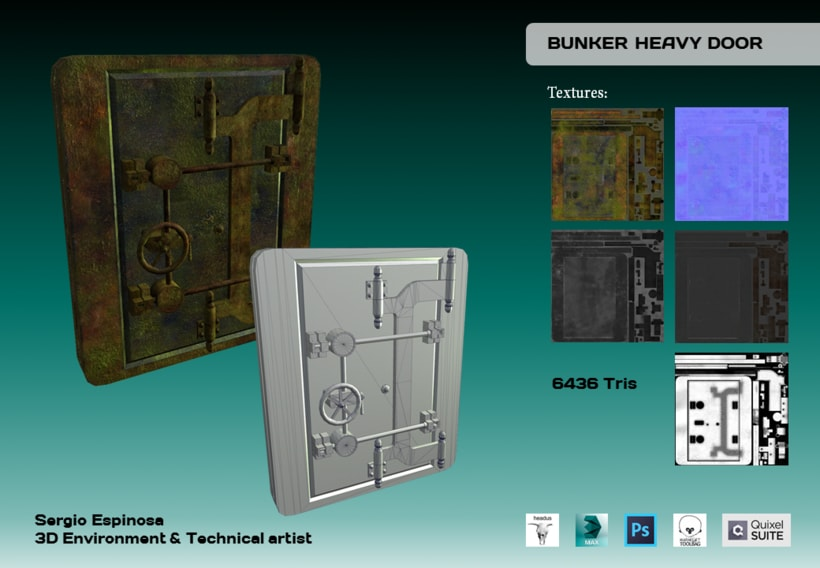 Bunker Heavy Door -1