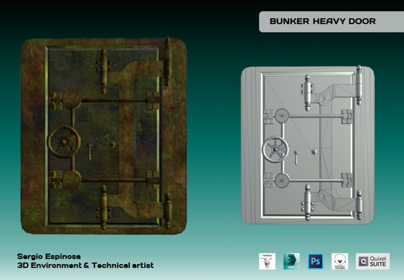 Bunker Heavy Door 0