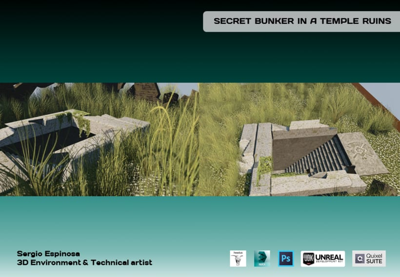 Secret Bunker in a Temple Ruins -1