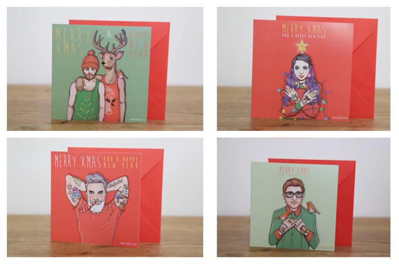XMAS CARDS 4