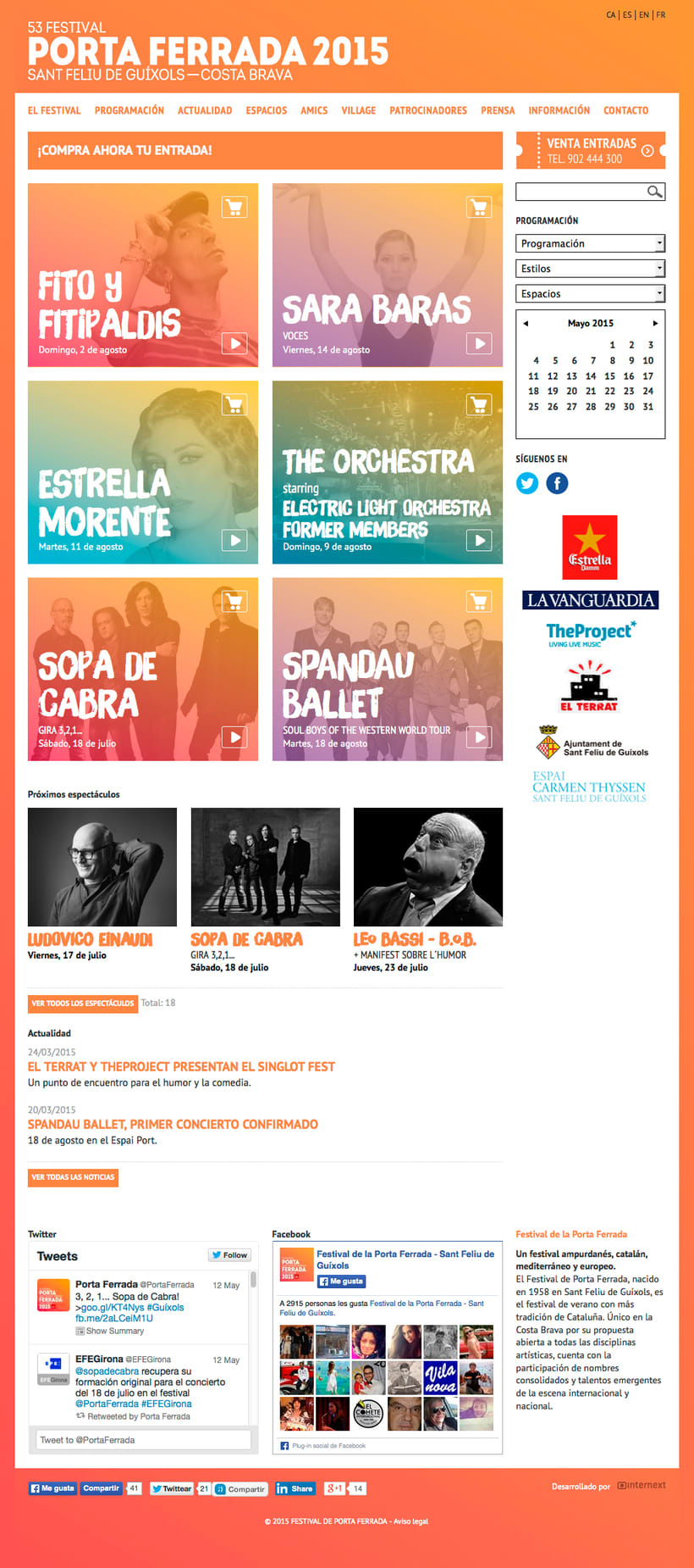 Web Festival Porta Ferrada 2015 1