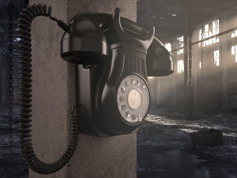 Teléfono vintage 0