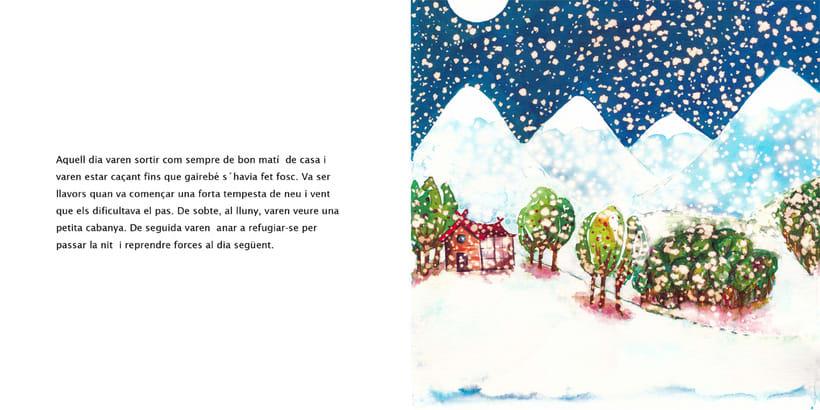 La Dama de las Nieves - Album ilustrado 3