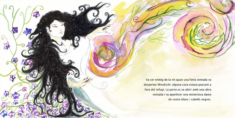 La Dama de las Nieves - Album ilustrado 4