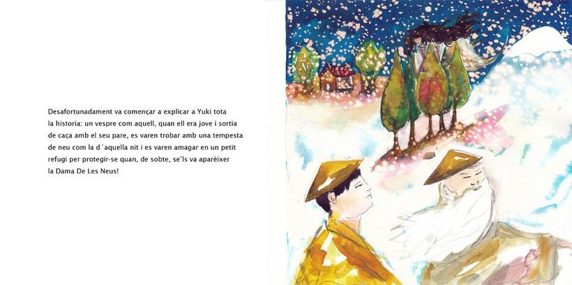 La Dama de las Nieves - Album ilustrado 11