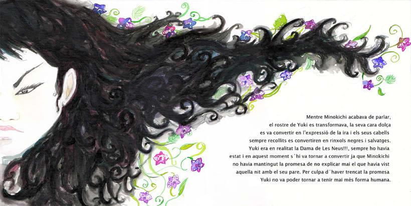 La Dama de las Nieves - Album ilustrado 12