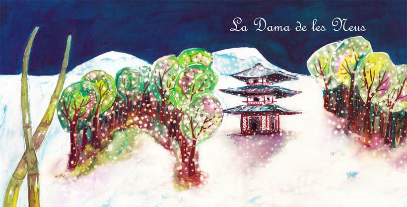 La Dama de las Nieves - Album ilustrado 0
