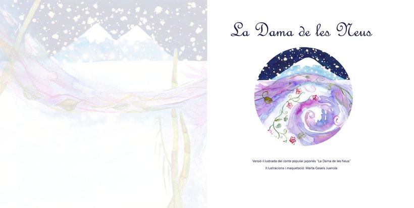 La Dama de las Nieves - Album ilustrado 1