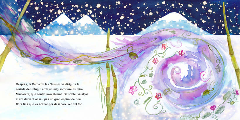 La Dama de las Nieves - Album ilustrado 6