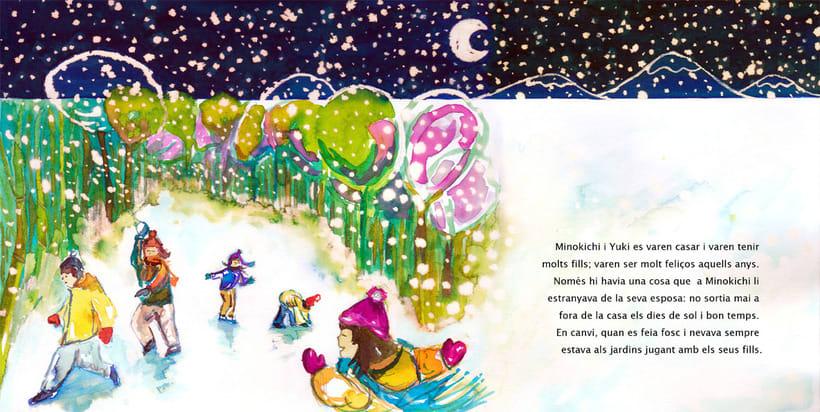 La Dama de las Nieves - Album ilustrado 9