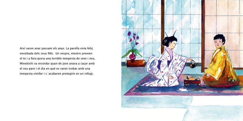 La Dama de las Nieves - Album ilustrado 10
