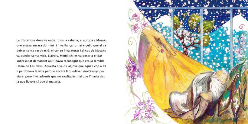 La Dama de las Nieves - Album ilustrado 5