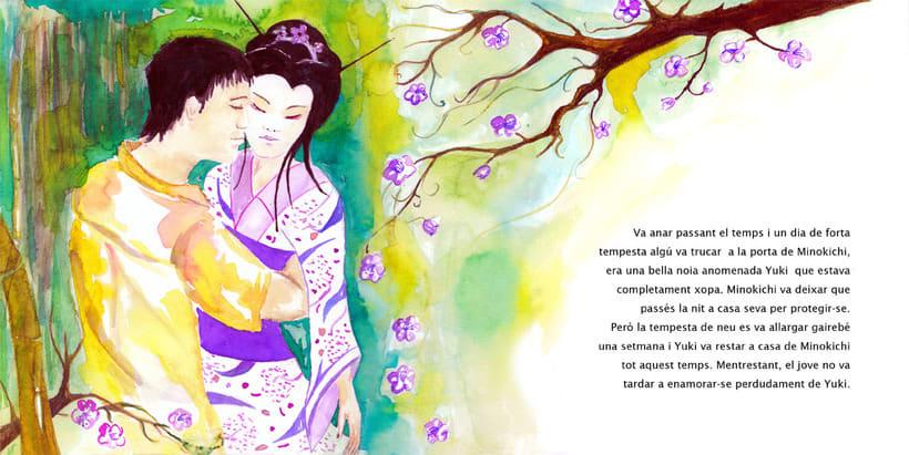 La Dama de las Nieves - Album ilustrado 8