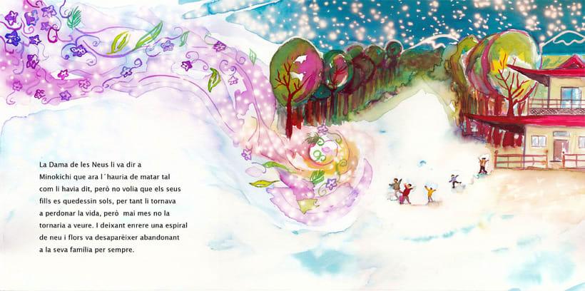 La Dama de las Nieves - Album ilustrado 13
