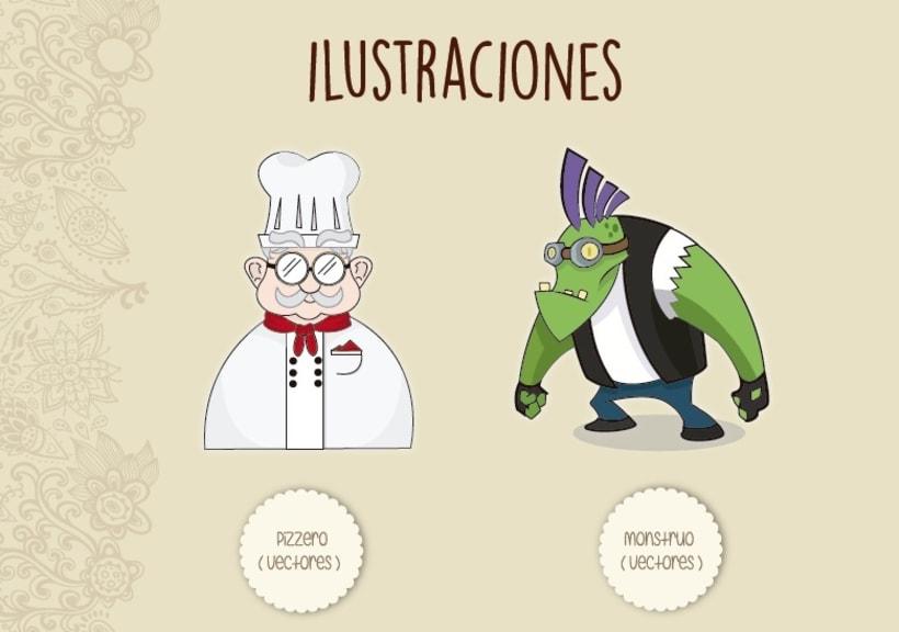 Ilustraciones - vectores -1