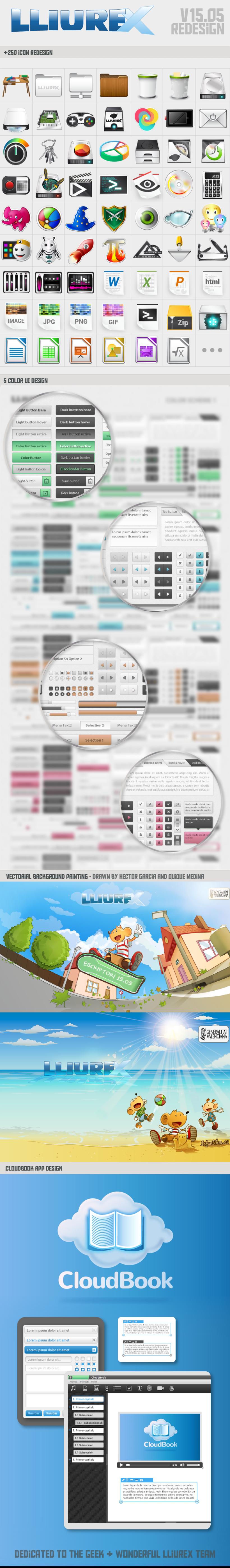 LLIUREX V15.05 OS DESIGN 0