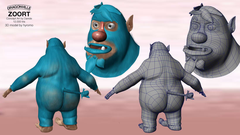 Zoort, 3D Character Modelling 1