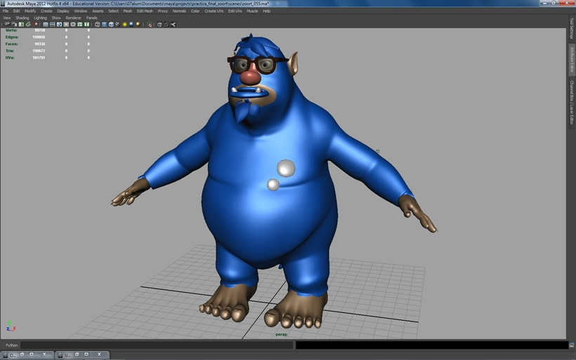 Zoort, 3D Character Modelling 7