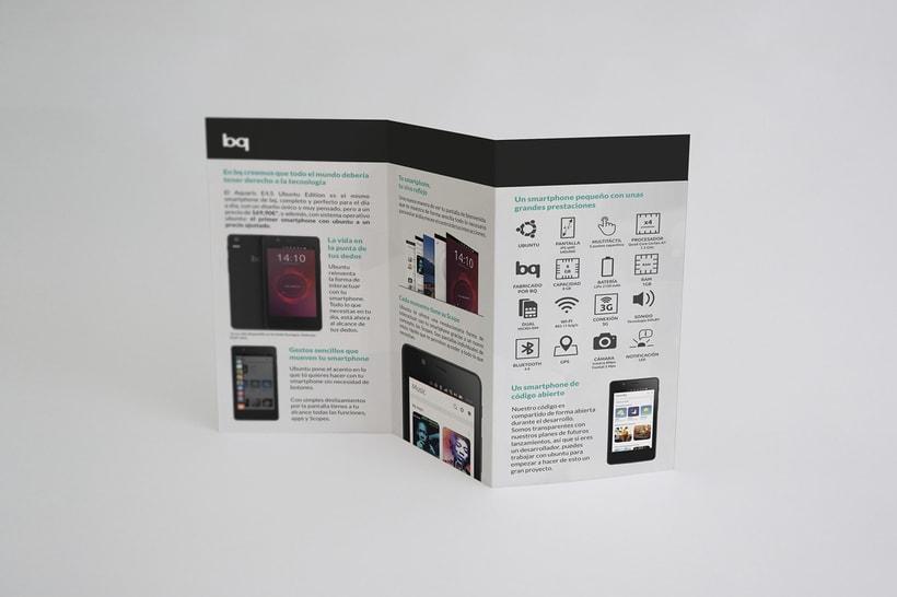 Tríptico - BQ Ubuntu Phone 3