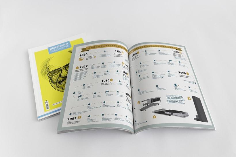 PLATAFORMA MAGAZINE - Diseño Editorial 5