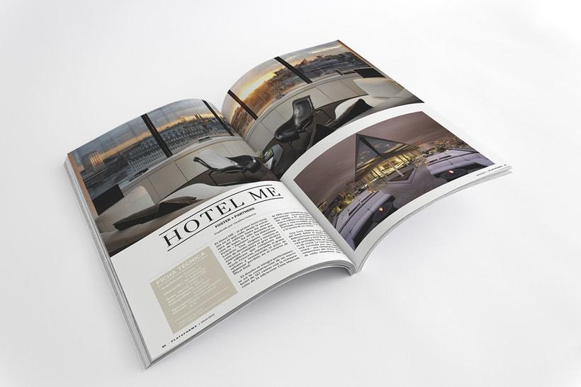 PLATAFORMA MAGAZINE - Diseño Editorial 8