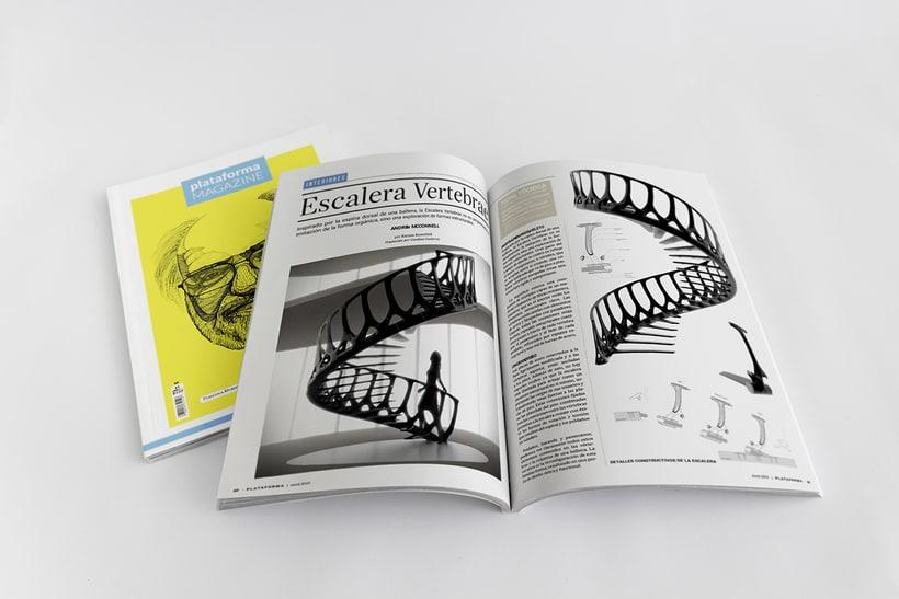 PLATAFORMA MAGAZINE - Diseño Editorial 9