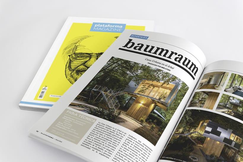 PLATAFORMA MAGAZINE - Diseño Editorial 10