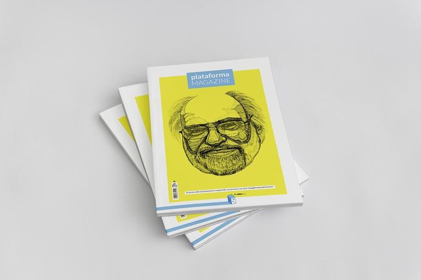 PLATAFORMA MAGAZINE - Diseño Editorial 0