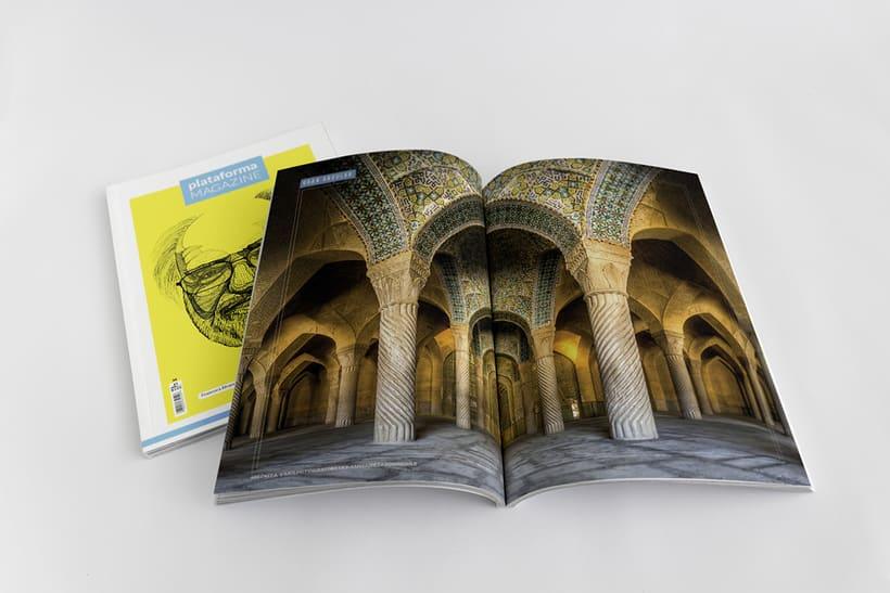 PLATAFORMA MAGAZINE - Diseño Editorial 7
